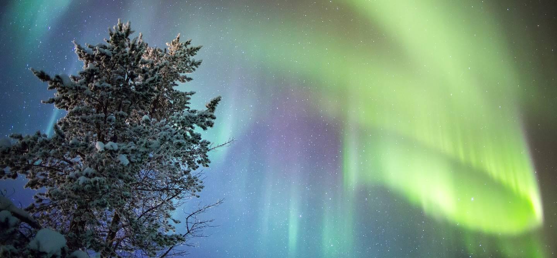 Aurore boréale - Inari - Laponie - Finlande