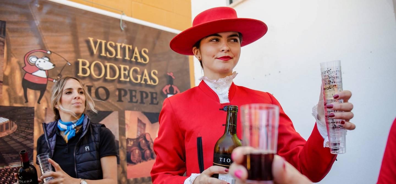 Le haras de Yeguada de la Cartuja à Jere de la Frontera - Andalousie - Espagne