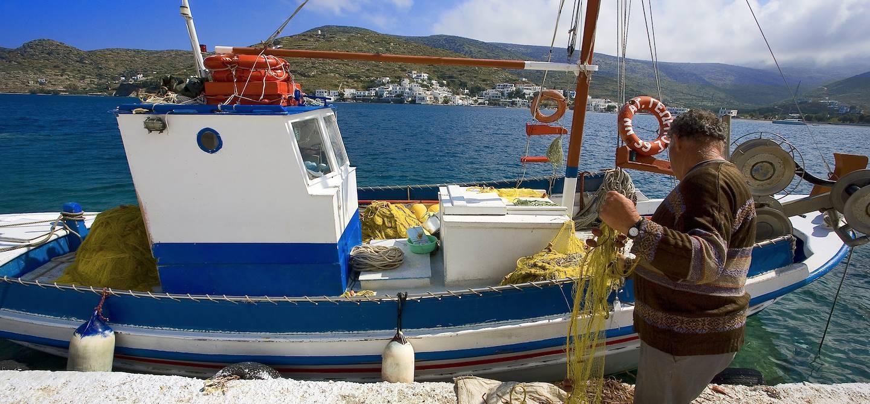 Katapola - Amorgos - Iles des Cyclades - Grèce