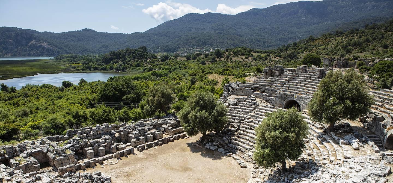 Théâtre de Kaunos - Province de Mugla - Turquie