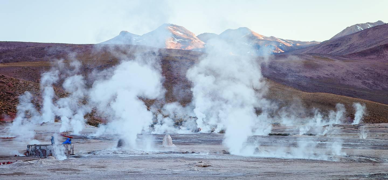 Geysers d'El Tatio - San Pedro de Atacama - Chili