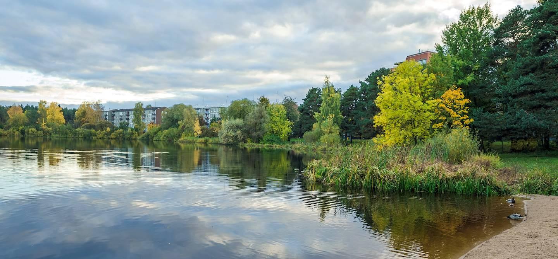 Lac Jugla - Région de Riga - Lettonie