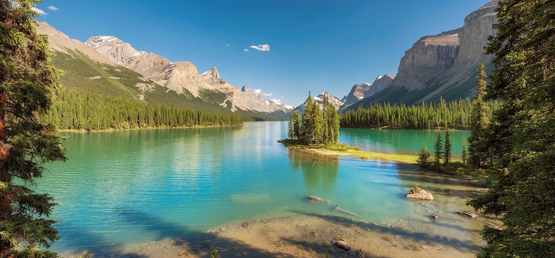 Lac Maligne - Parc national Jasper - Alberta - Canada