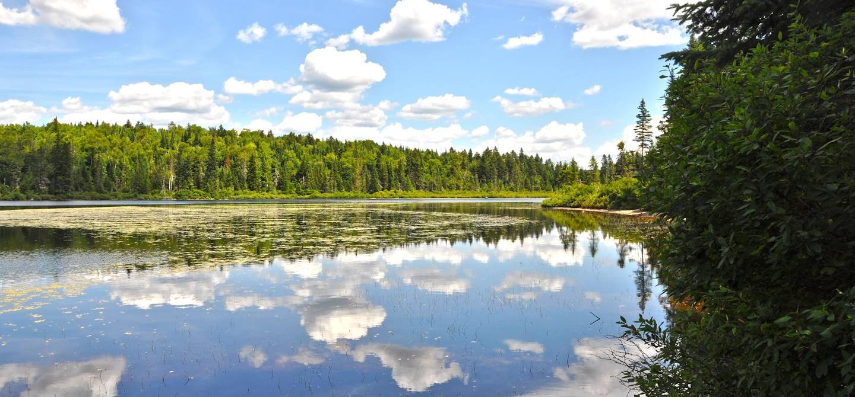 Lac Miroir - Parc National de la Mauricie - Québec - Canada