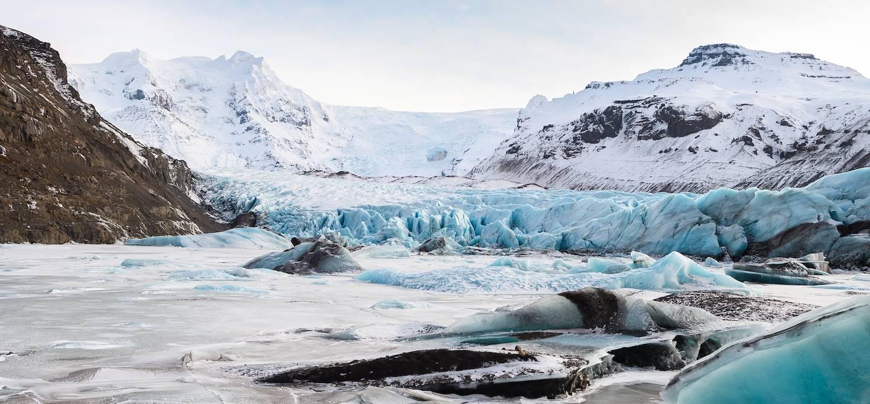Le glacier Vatnajökull - Parc National du Vatnajökull - Islande