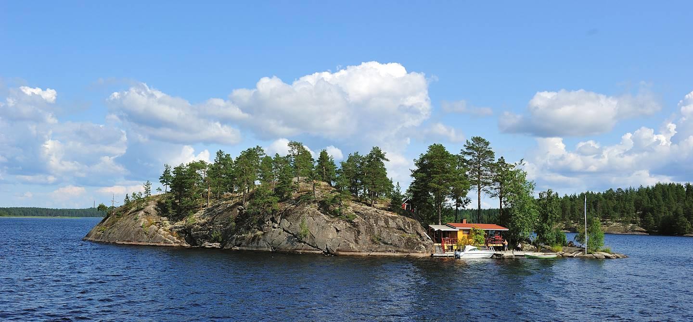 Le lac Saimaa - Finlande