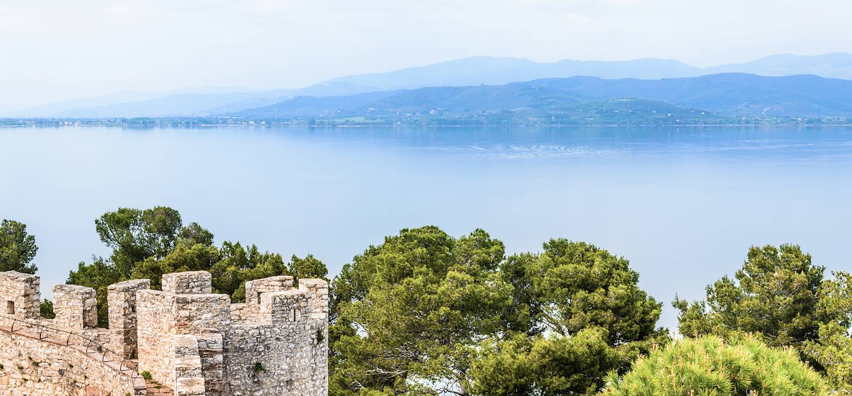 Castiglione del Lago - Lac Trasimène - Italie