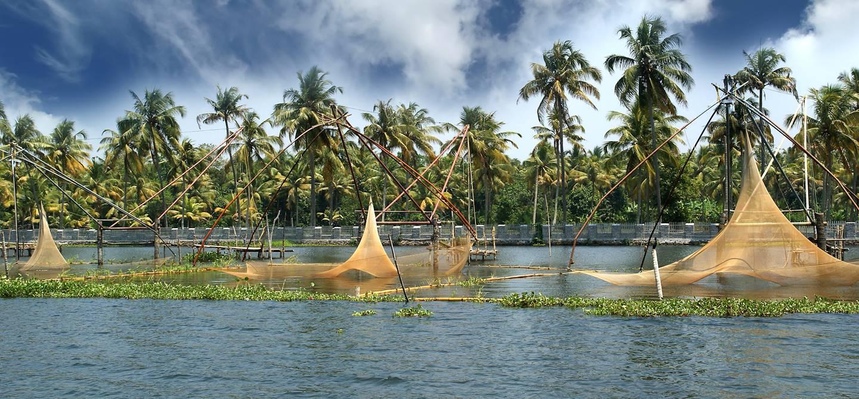Lac Vembanad - Kerala - Inde