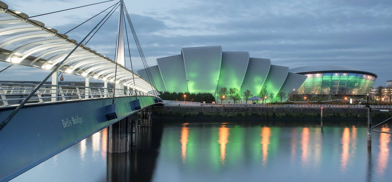 Le Clyde Auditorium - Glasgow - Ecosse