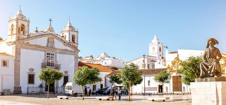 Église de Santa Maria dans la vieille ville - Lagos - Région de l'Algarve - Portugal