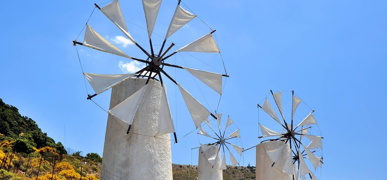 Les moulins à vent du plateau de Lassithi - Grèce