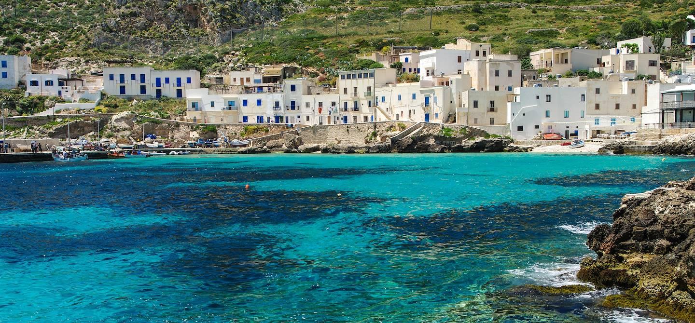 Ile de Levanzo - Iles Egades - Sicile - Italie