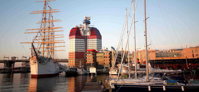 Le port de Gothenburg - Suède