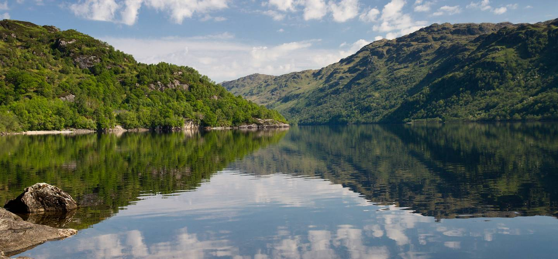 Reflets sur le Loch Lomond - Ecosse