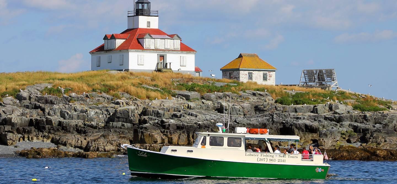 Croisière découverte du homard du Maine - Bar Harbor - Etats-Unis