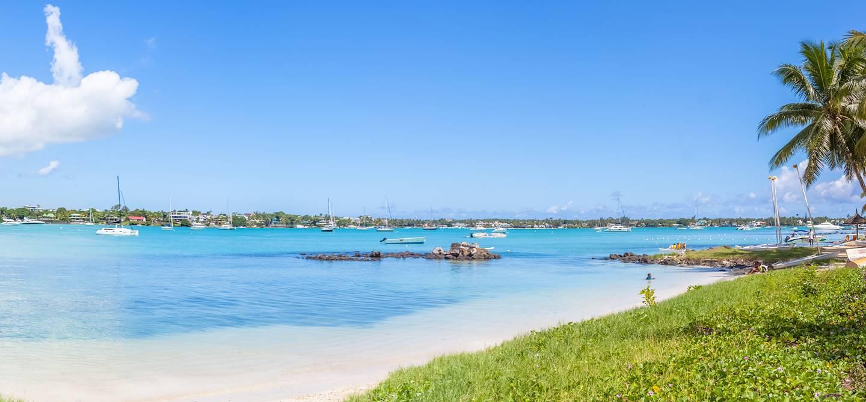 La rade de Grand Baie - île Maurice