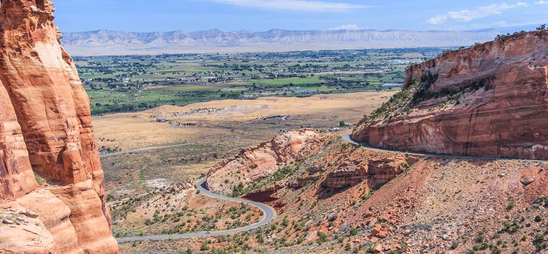 Colorado National Monument à Grand Junction - Colorado - Etats-Unis