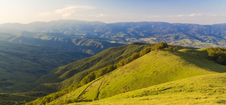 Massif montagneux du Pratomagno - Italie