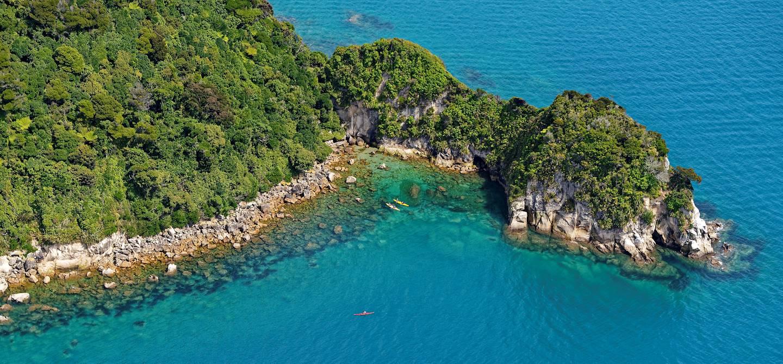 Parc national Abel Tasman - île du Sud - Nouvelle-Zélande