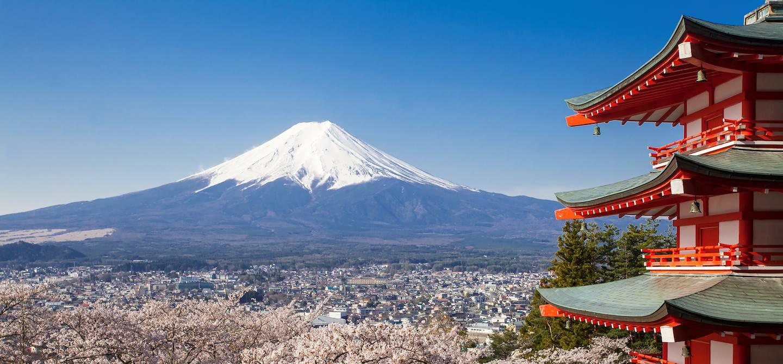 Mont fuji - Préfecture de Shizuoka - île d'Honshu - Japon
