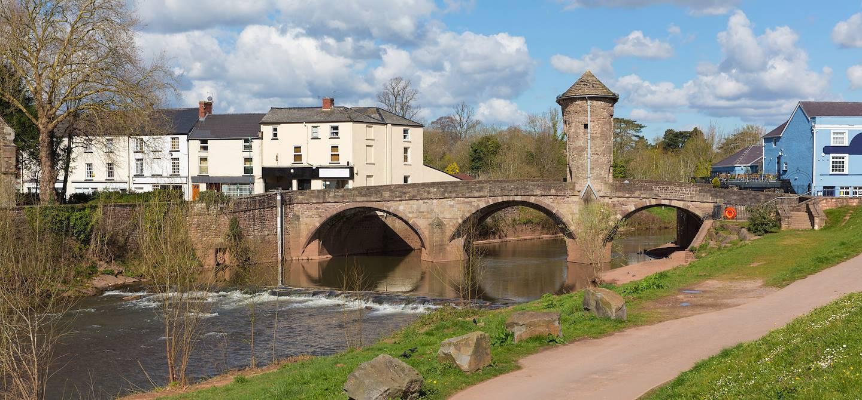 Monmouth - Comté de Monmouthshire - Pays de Galles