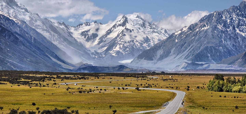 Parc National du Mont Cook - Nouvelle Zélande