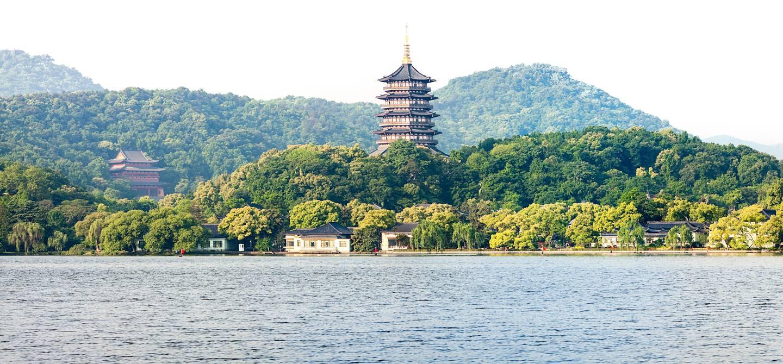 Lac de l'ouest - Hangzhou - Zhejiang - Chine