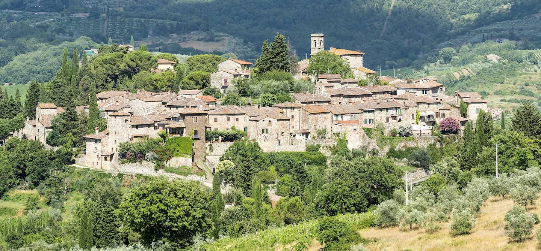 Montefioralle - région du Chianti - Toscane - Italie