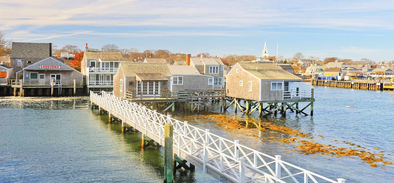 Le port de Nantucket - Île de Nantucket - Massachusetts - Etats-Unis