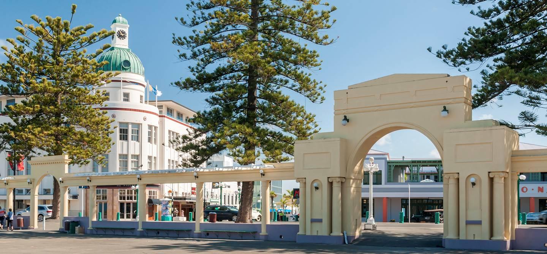Napier - île du Nord - Nouvelle-Zélande