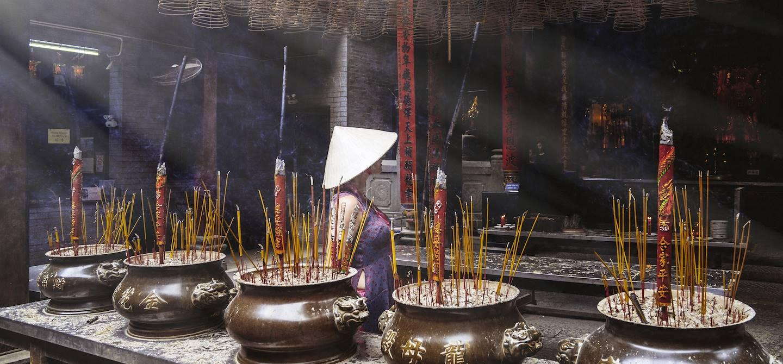 Au coeur d'un temple à Ho Chi Minh Ville - Vietnam