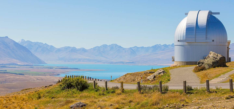 Observatoire du Mont John - Tekapo - île du Sud - Nouvelle-Zélande