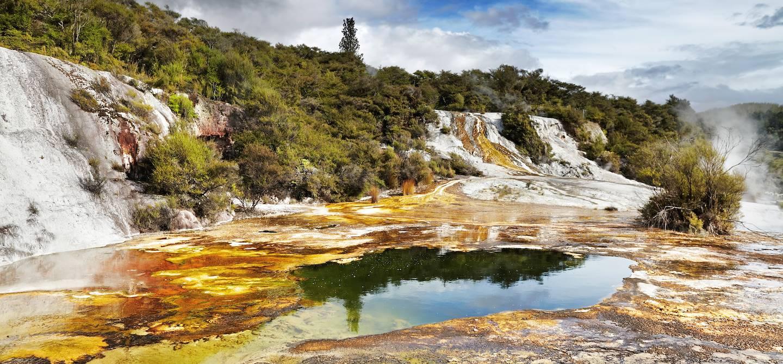 Orakei Korako - île du Nord - Nouvelle-Zélande