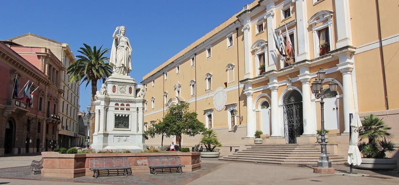Place Eleonora d'Arborea - Oristano - Sardaigne - Italie