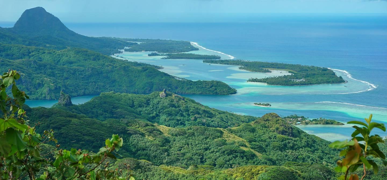 Huahine - Archipel de la société - Polynésie