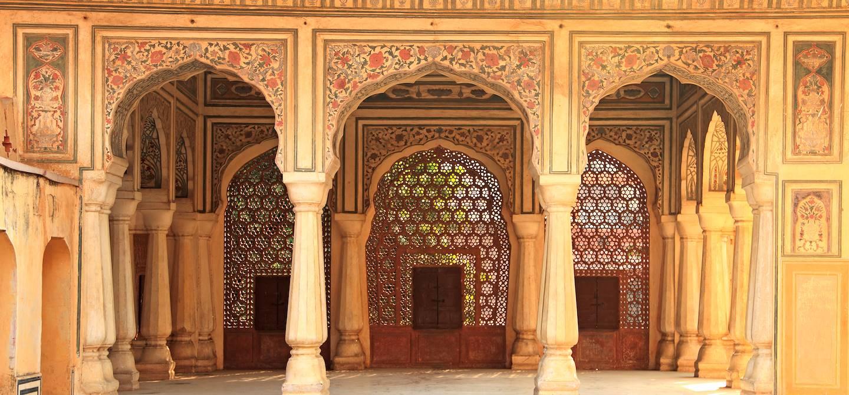 Intérieur du palais des vents - Jaipur - Rajasthan - inde