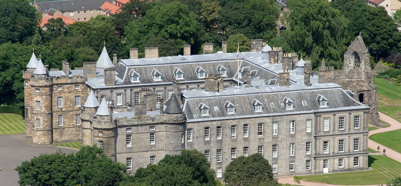 Palais d'Holyrood - Edimbourg - Ecosse - Royaume-Uni