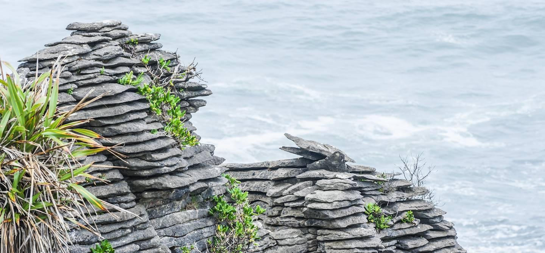 Pancake Rocks - Punakaiki - Île du Sud - Nouvelle-Zélande