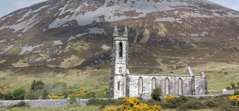 Dun Luiche - Mont Errigal - Poisened Glen - Parc national de Glenveagh - Comté de Donegal - Irlande