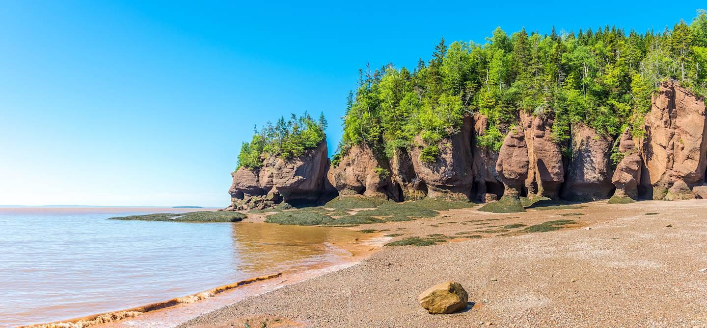 Hopewell Rocks, Baie de Fundy - Nouveau-Brunswick - Canada