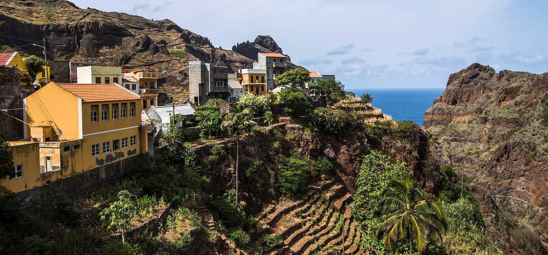 Randonnée sur le sentier côtier - Fontainhas - Île de Santo Antao - Cap Vert