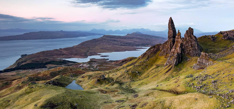 Old Man of Storr - Ile de Skye - Hébrides intérieures - Ecosse - Royaume-Uni