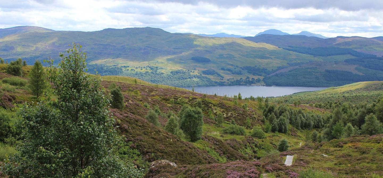 Loch Tay - Perthshire - Ecosse - Royaume-Uni