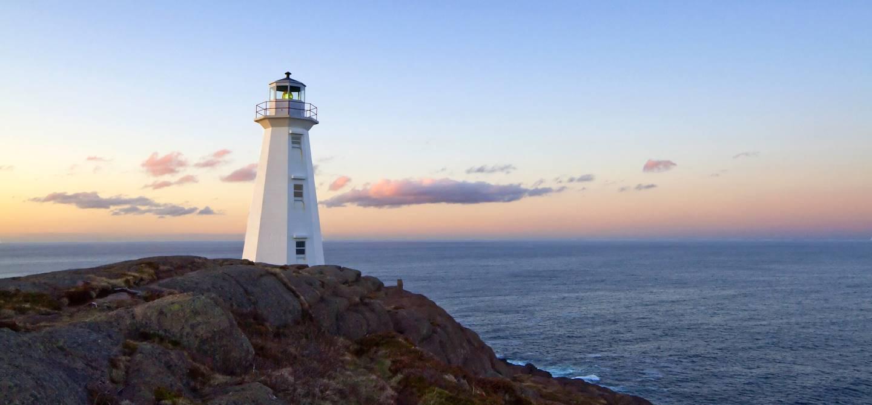 Le phare de Cape Spear - Terre-Neuve - Canada