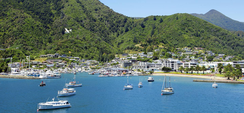 Picton - île du Sud - Nouvelle-Zélande