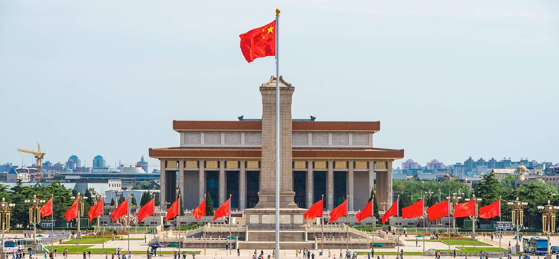 Place Tiananmen - Pékin - Chine