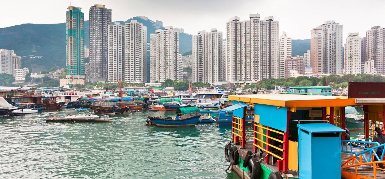 Aberdeen bay à Hong Kong