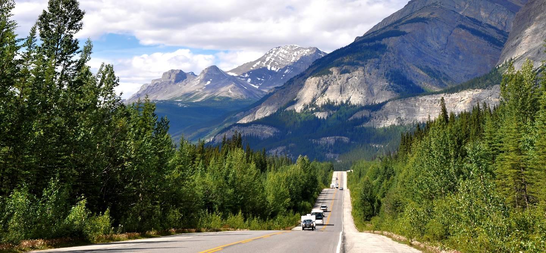 Route des glaciers - Parc national Banff - Alberta - Canada