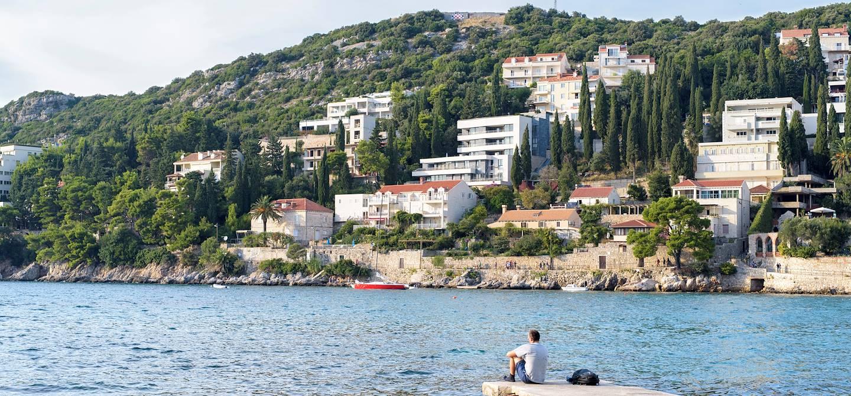 Quartier de Lapad - Dubrovnik - Croatie