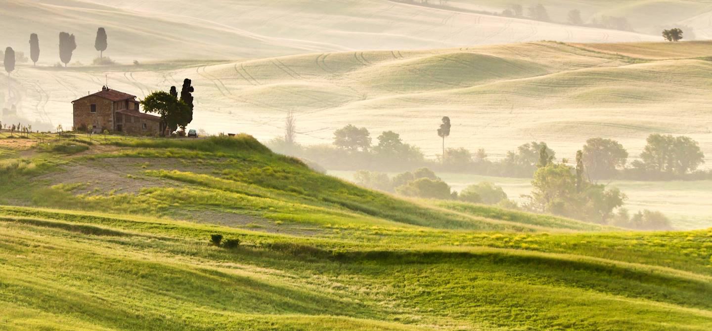 Campagne toscane près de pienza - Province de Sienne - Toscane - Italie